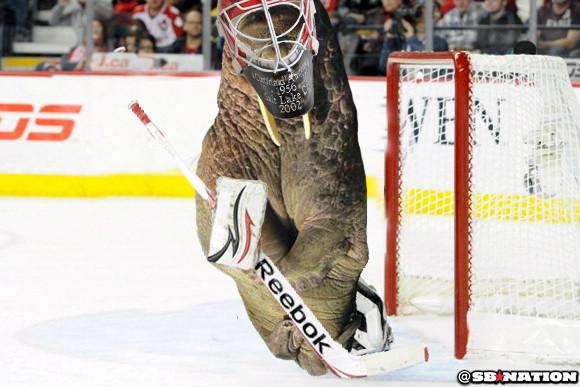 goalie walrus