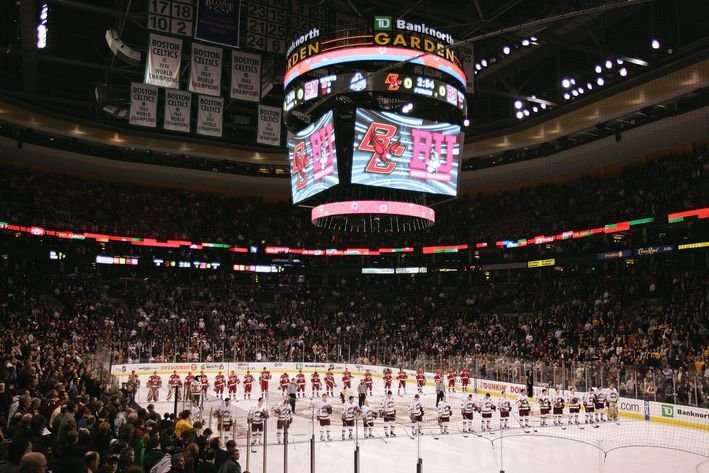 NCAA: Tom Caron - Boston University Is Team To Beat Heading Into Beanpot (video)