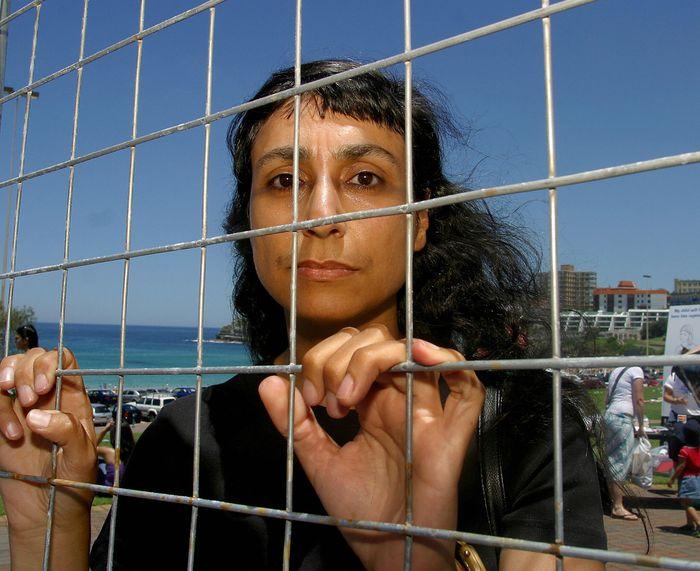 Mireille Bondi Protest