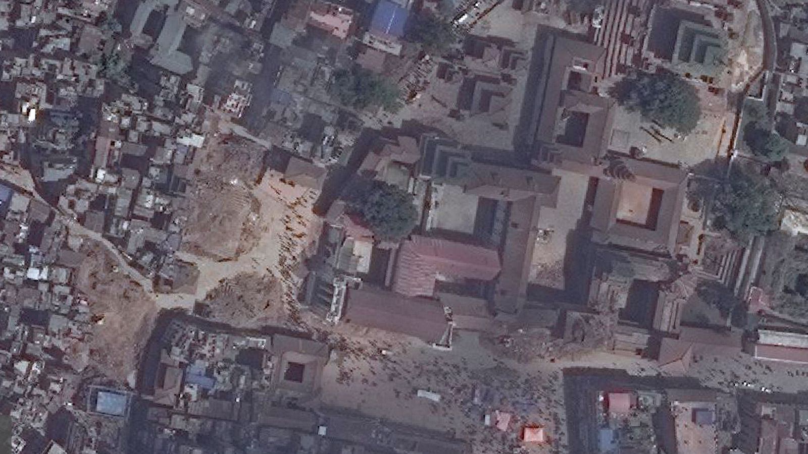 New Satellite Images Of Nepal Show Earthquakes