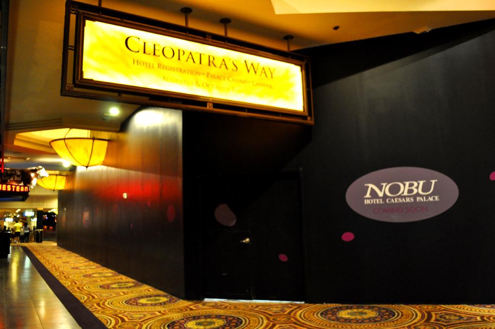 Nobu Caesars Room Service Menu