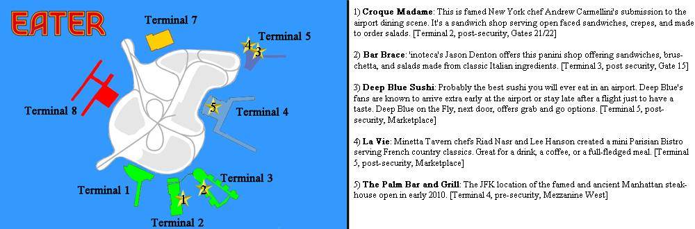 Where to Eat at John F  Kennedy Airport (JFK) - Eater NY