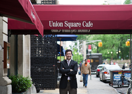 Union Square Cafe S New General Manager Sam Lipp Eater Ny