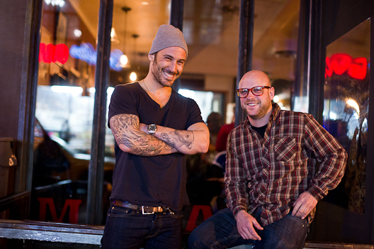 The Meatball Shop's Michael Chernow and Daniel Holzman