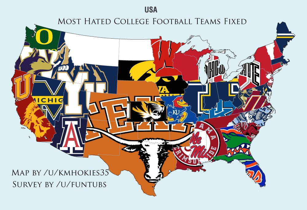 40 Maps And Charts That Explain Sports In America Vox - Us-map-nfl-teams