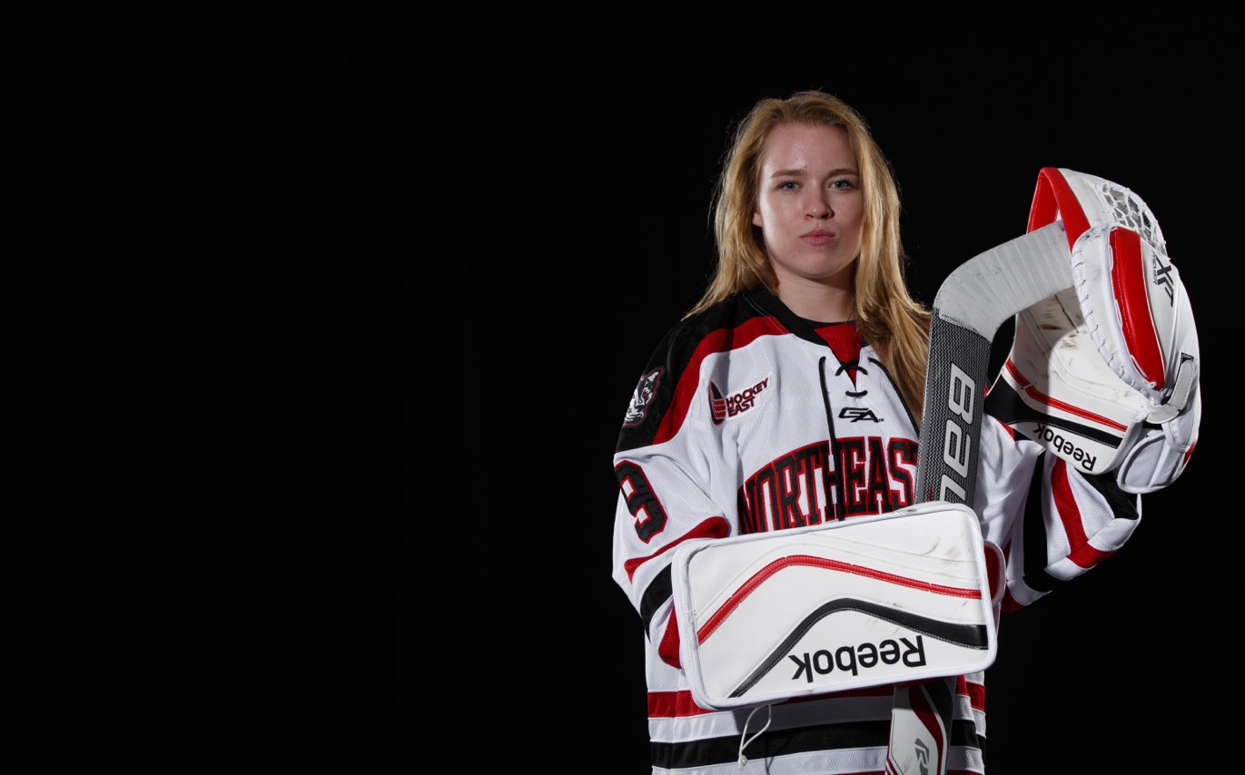 Hockey East: The Other Crosby - Taylor Crosby's Path From Sid's Kid Sister To Northeastern Goaltender