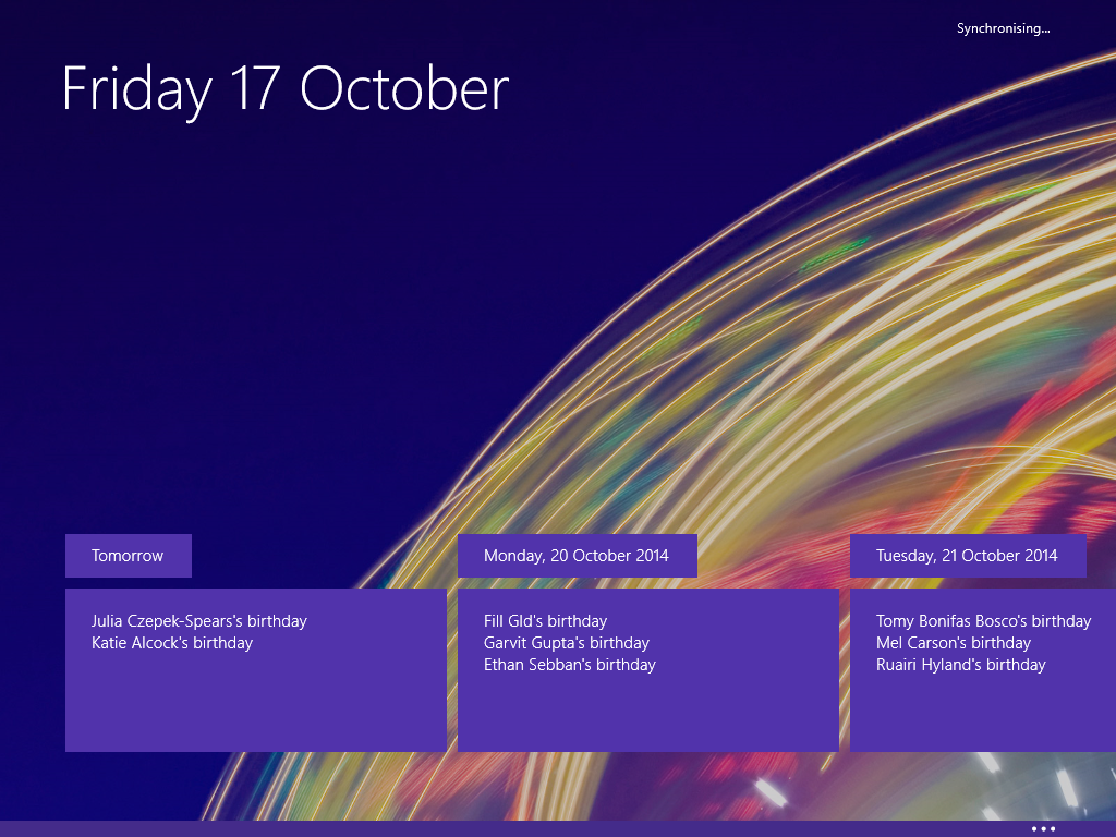 Calendar Wallpaper Windows : Windows the top most requested features verge