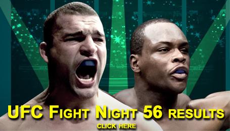 UFC Fight Night 56 Results