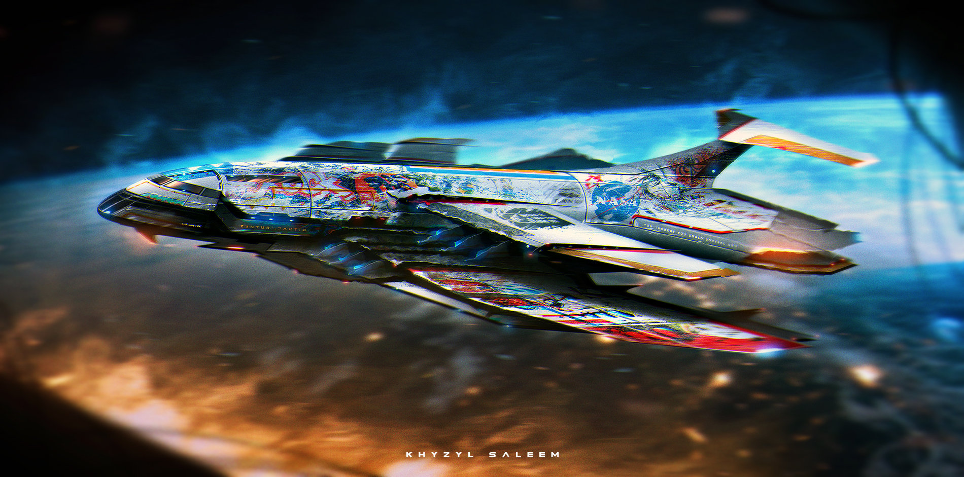 This 21 Year Old Is Painting The Most Insane Sci Fi