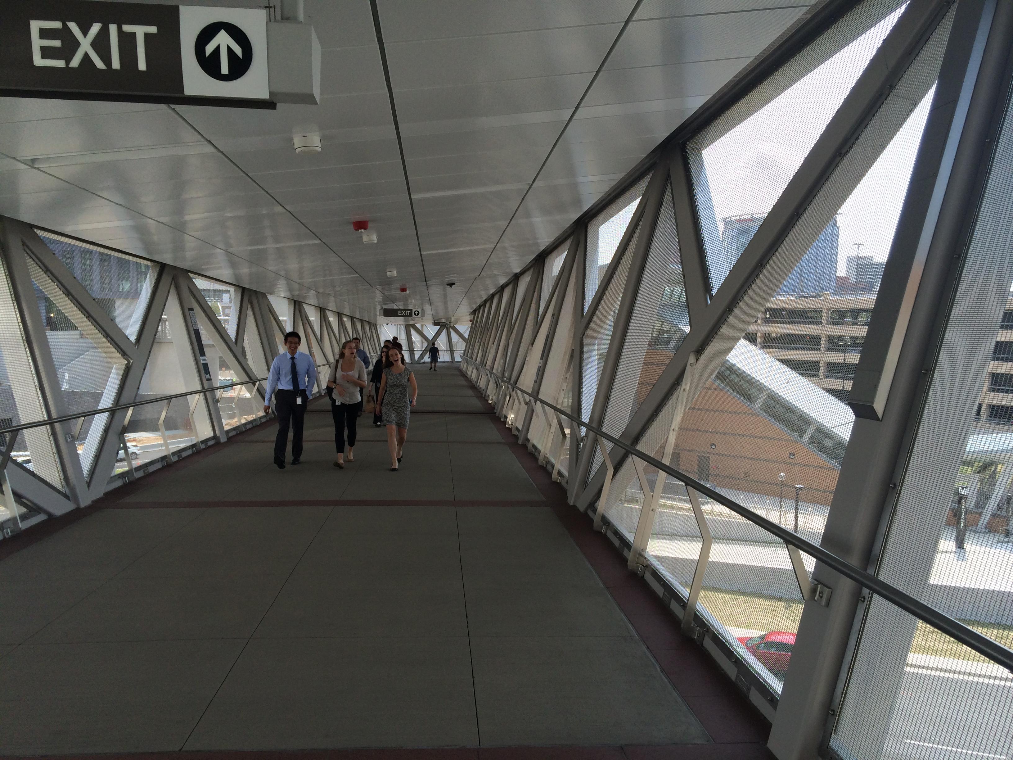 Tyson's Corner skybridge