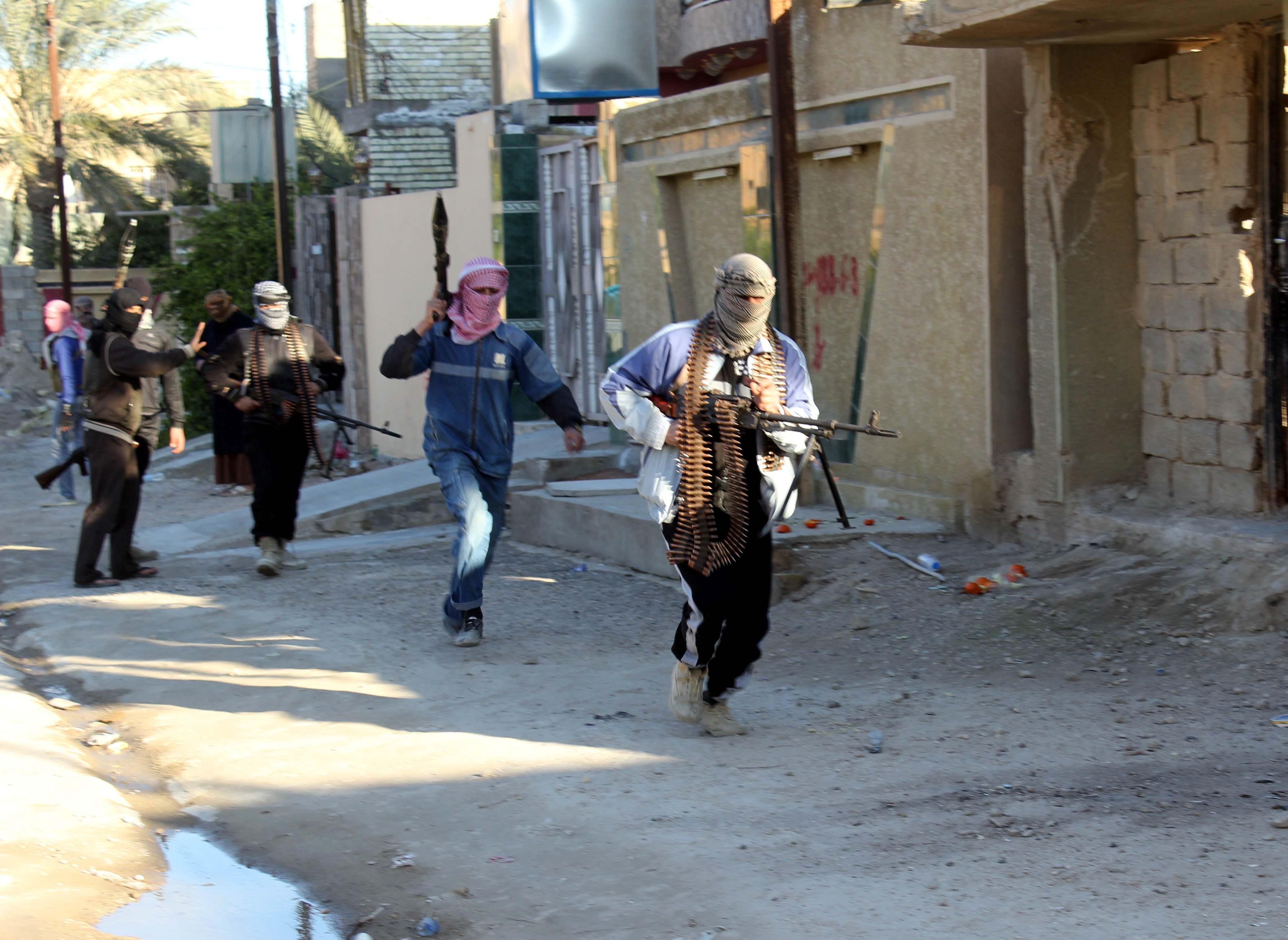 ISIS fighters Kirkuk