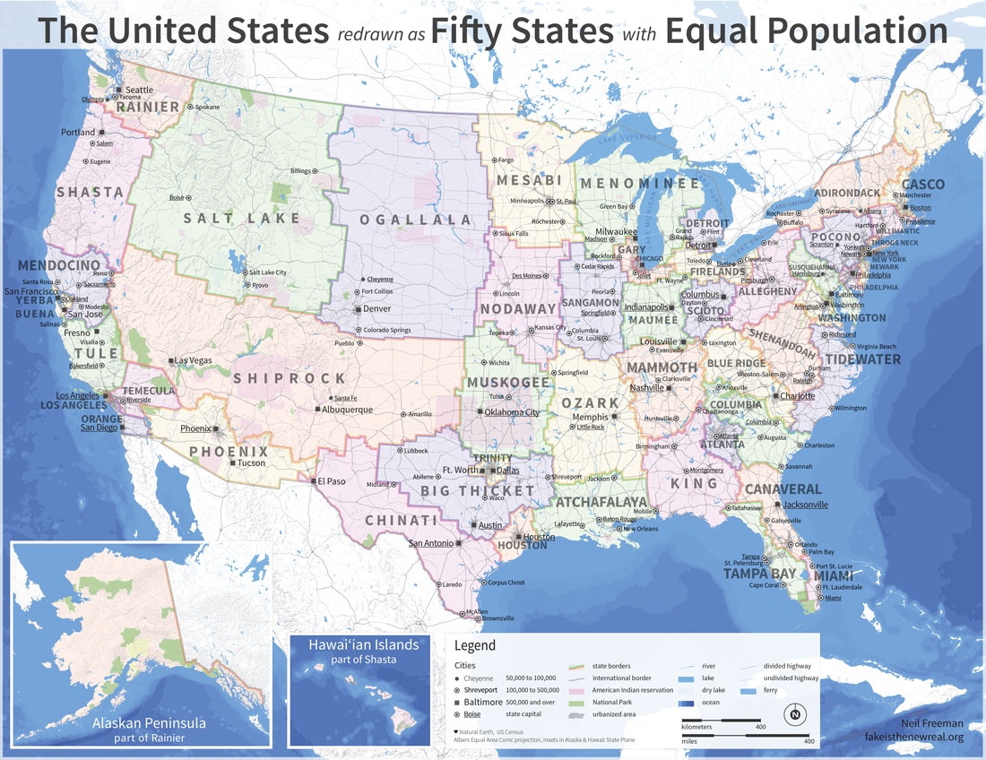 Maps That Explain America Vox - Dc universe us map