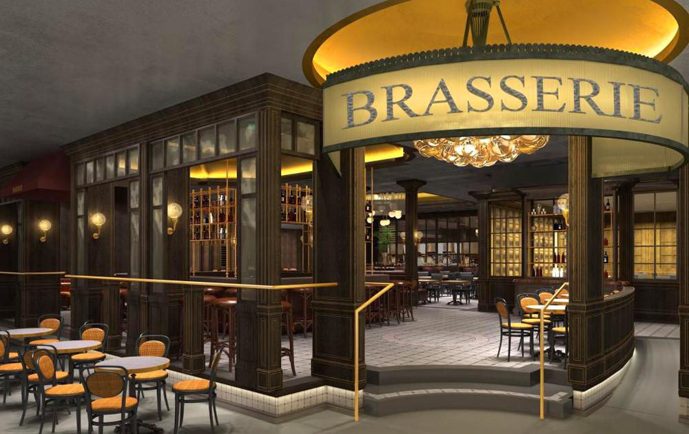 The Brasserie Kitchen And Bar Restaurant