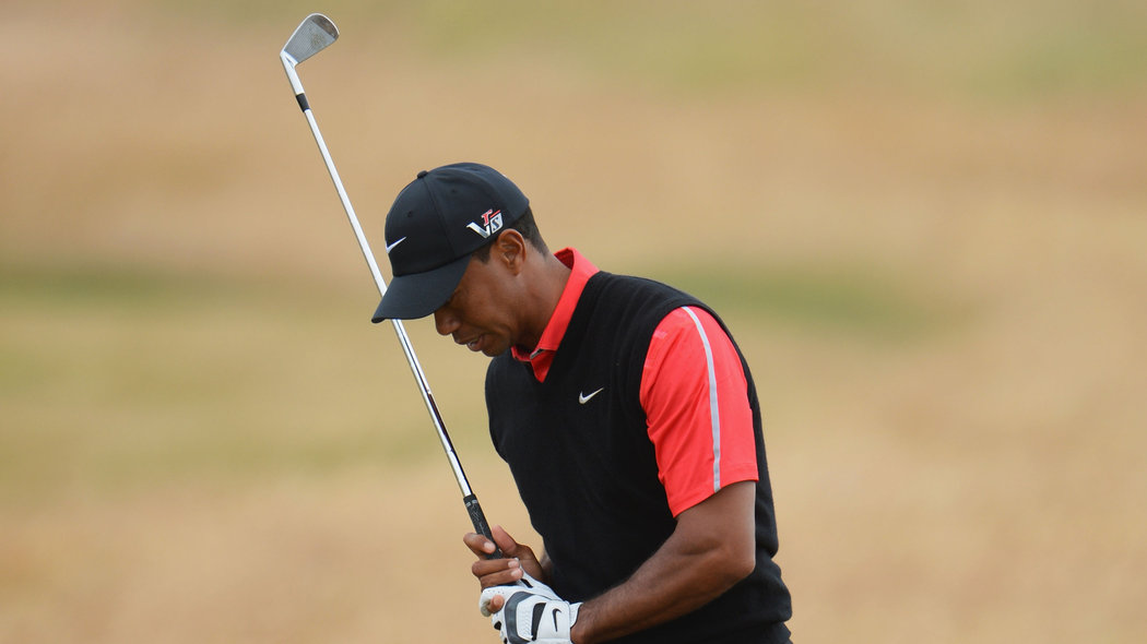 2013 british open results  tiger woods finishes 5 shots