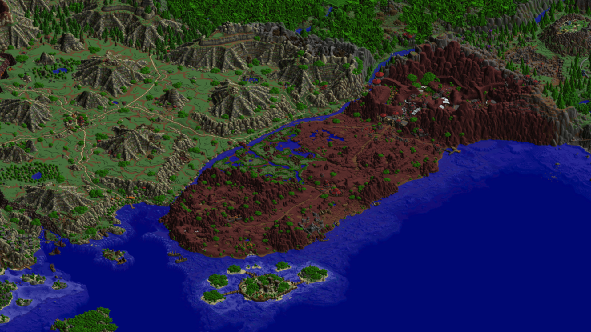 'World of Warcraft' within a world: Kalimdor recreated to ...