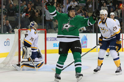 Dallas Stars 7, Nashville Predators 3: Rinne torched in the Texas heat