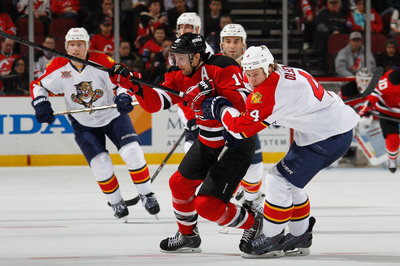 Recap: Zajac hat-trick powers desperate Devils past Panthers