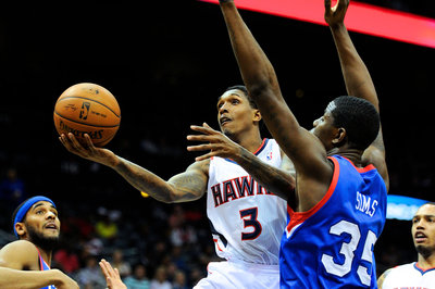 76ers vs Hawks: Lou Williams comes up big against former team