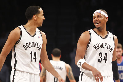 Shaun Livingston and Paul Pierce are OUT tonight