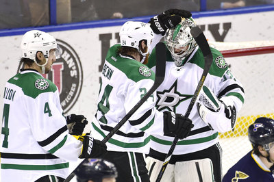 Dallas Stars Morning Skate: Kari Lehtonen Will Lead Team In First Win-and-In Game Against St. Louis Blues
