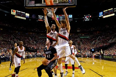 Blazers C Robin Lopez, F LaMarcus Aldridge Draw Votes For Most Improved Player
