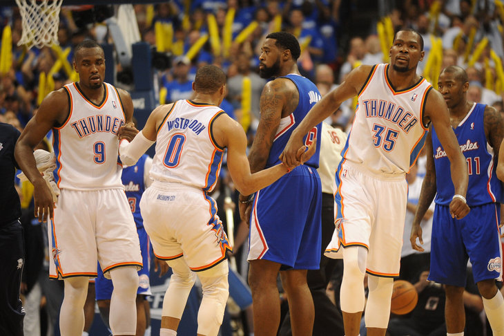 Kevin Durant And Russell Westbrook Best Friends Game 2 grades: kevin durant