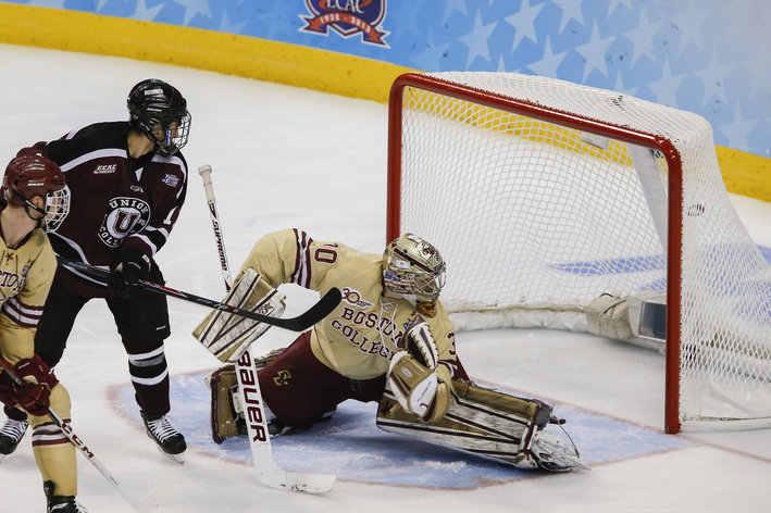 Hockey East: 2014 NHL Draft Prospect - Boston College Goaltender Thatcher Demko