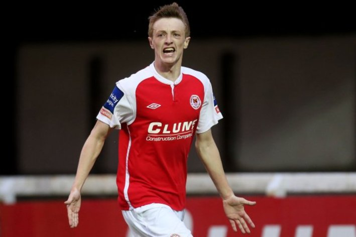 IRISH WINGER LINKED TO SAFC, AND A CRACKING GOAL Christopher-forrester-celebrates-2852013-2-630x449.0_standard_709.0