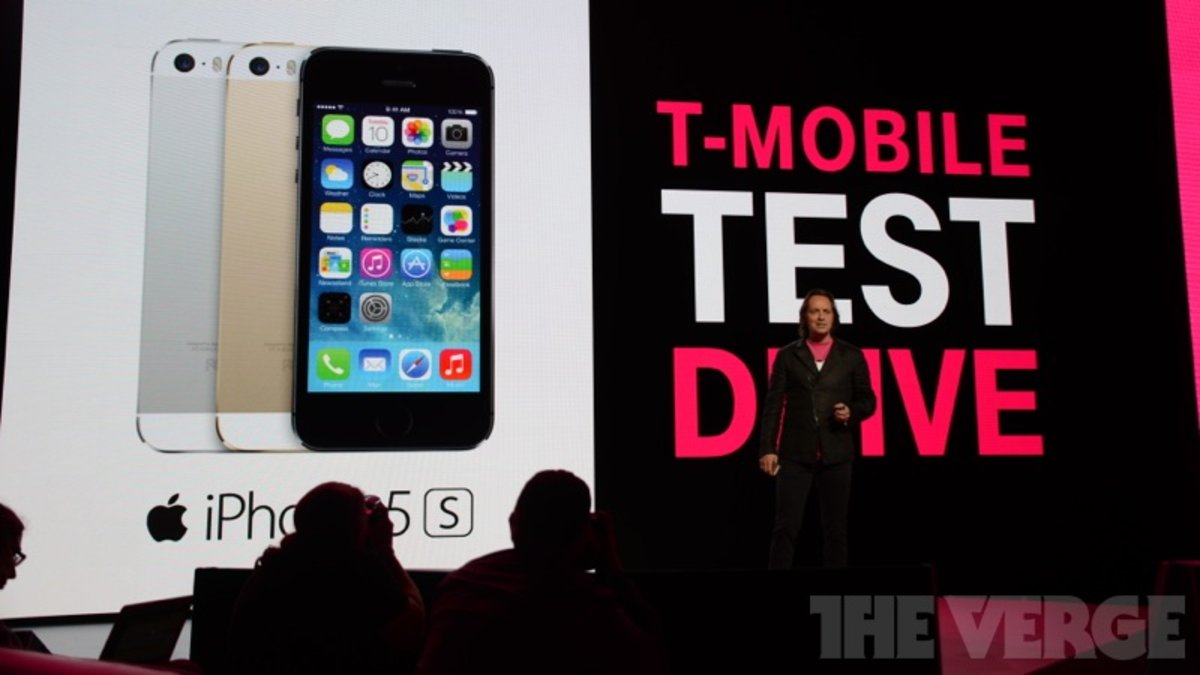 T-Mobile will lend you an iPhone 5S for a week to test its network