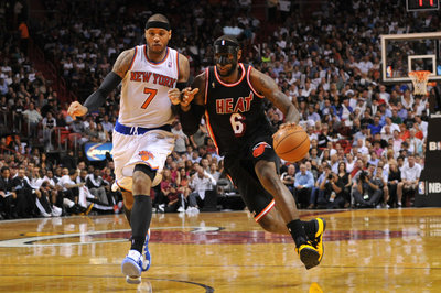 Rockets consider Harden trade to get LeBron James and Carmelo Anthony, Chris Broussard says