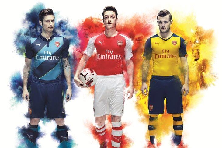 Arsenal's 2014/15 away kit recalls Invincibles, cup kit ...