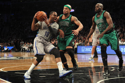 Where does Marcus Thornton fit in with the Celtics?