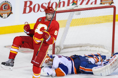 Flames avoid arbitration with Colborne, re-sign him to two-year deal