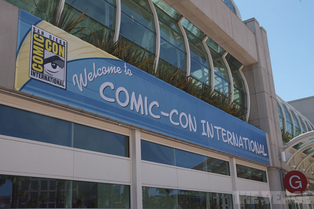 The Verge at Comic-Con