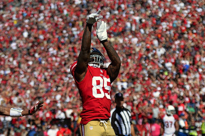 Vernon Davis has created a new super hero, Captain Torpedo