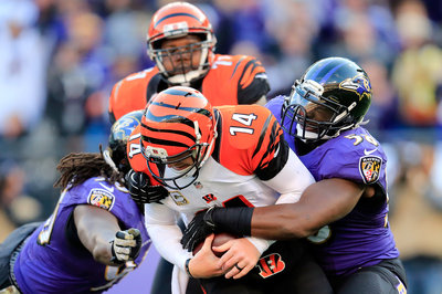 A healthy Elvis Dumervil should improve the Ravens defense