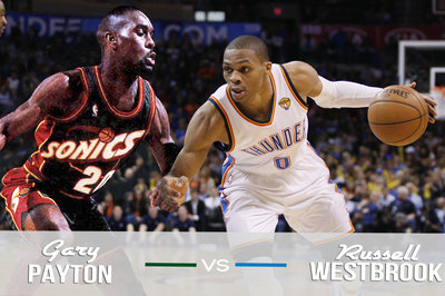 The '96 Sonics vs. '12 Thunder Clash: Gary Payton vs. Russell Westbrook