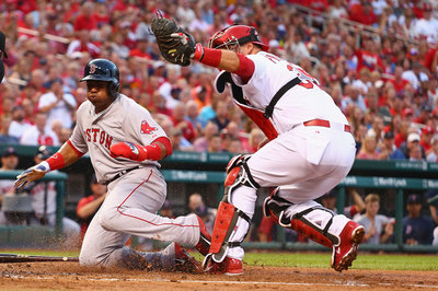 Red Sox 2, Cardinals 3: A.J. Pierzynski beats Red Sox, everything is terrible