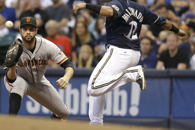 Brandon Belt back on 7-day disabled list with concussion-related symptoms