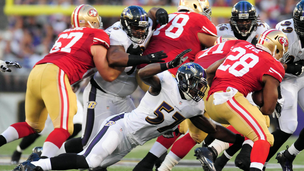 winners and losers from 49ers loss to ravens in preseason