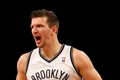 Mirza Teletovic goes for 25 points in Bosnia's win over Great Britain