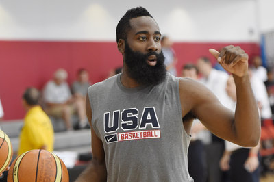 James Harden and USA Basketball Teammates do the ALS Ice Bucket Challenge