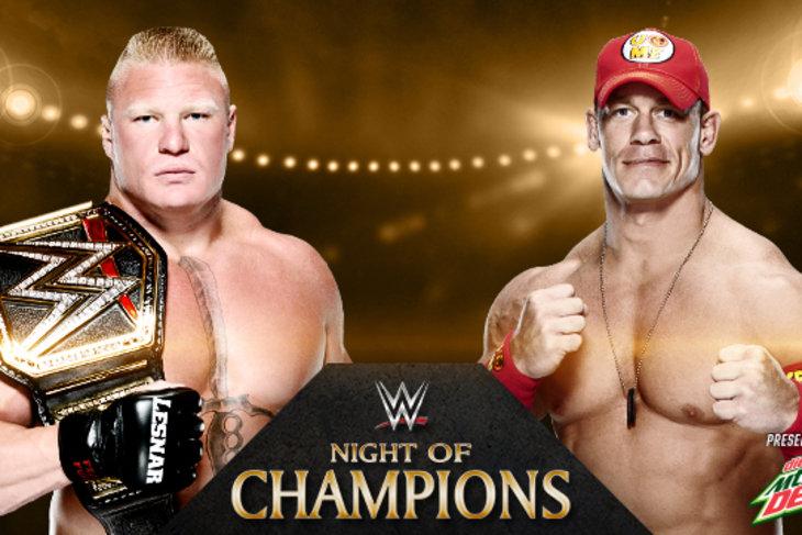 Ocena za walkę na Night of Champions