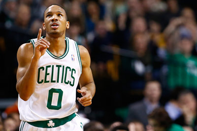 Avery Bradley's step back to deep range could make him into a lethal three-point shooter