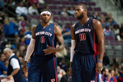 Is this Greg Monroe's farewell tour with the Pistons?