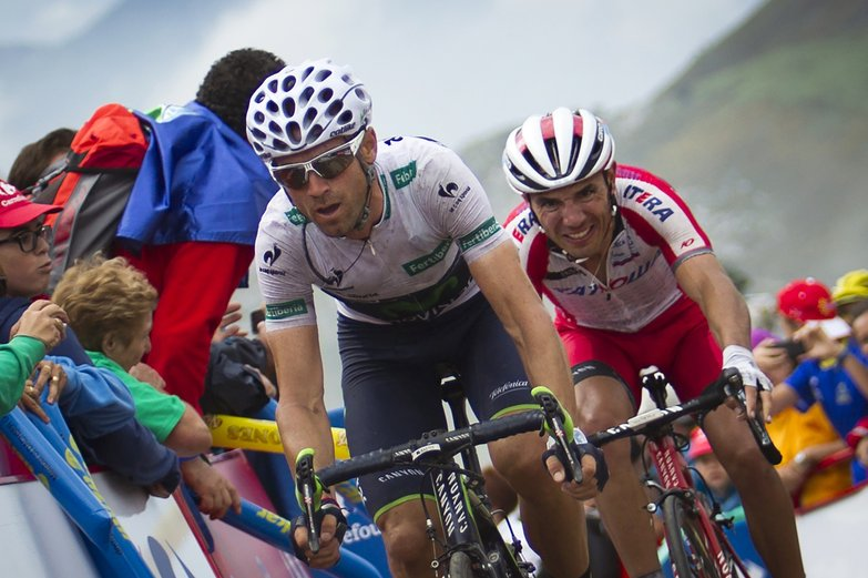 Photo: Four Cat 1 climbs and 1 Cat 2 are on the menu on the hardest day of this year's Vuelta.