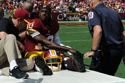 Robert Griffin III Injury Update: Dislocated Ankle