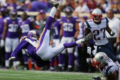 Patriots at Vikings: Stock Market Report