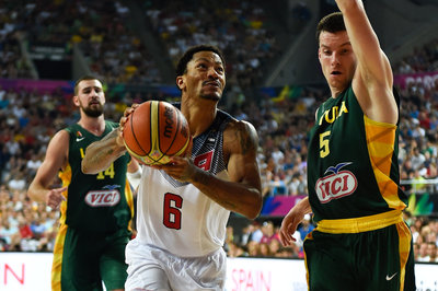 Derrick Rose relearned what can't be taught at the FIBA World Cup