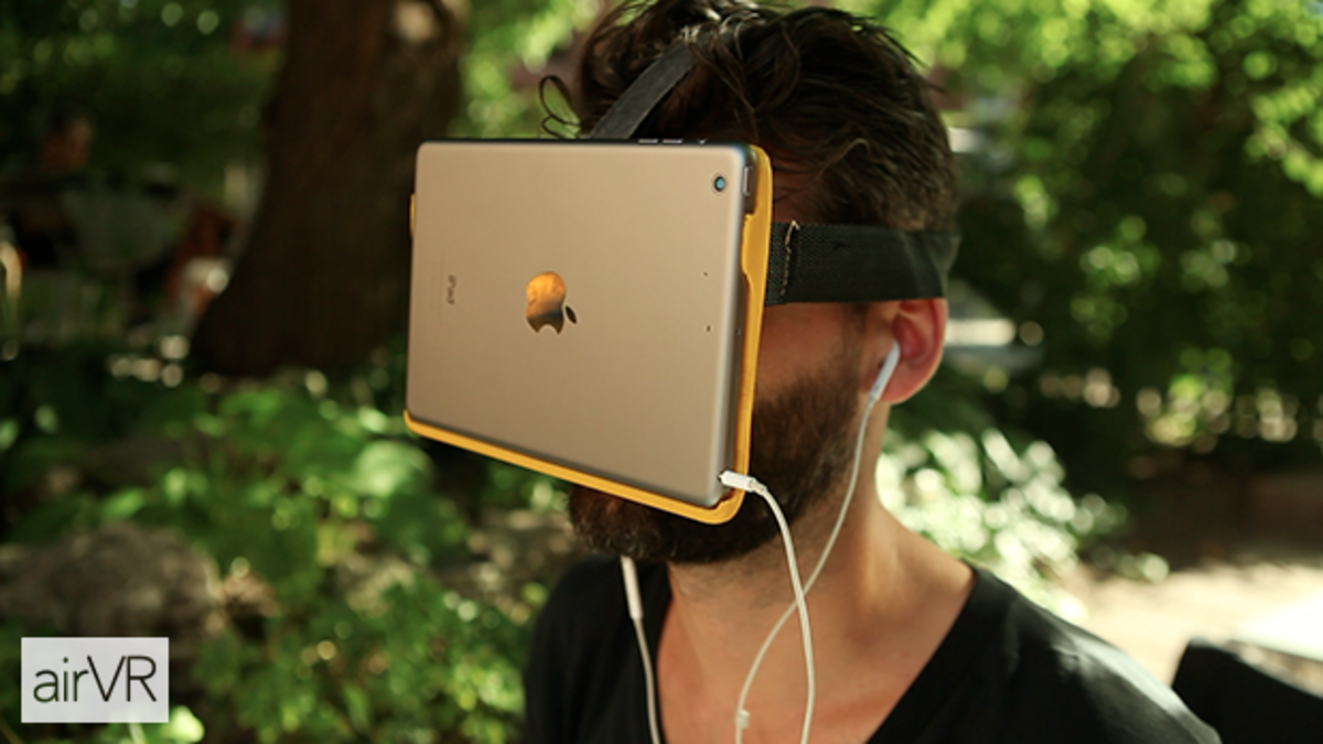 You can now attach your iPad directly to your face to experience virtual reality